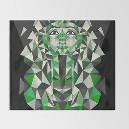 Ghost of Tutankhamun Throw Blanket