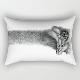 Funny Ostrich SK060 Rectangular Pillow