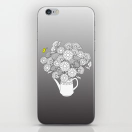 summer yellow butterfly iPhone Skin