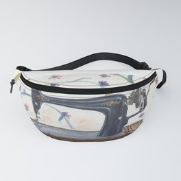 Vintage sewing machine Fanny Pack