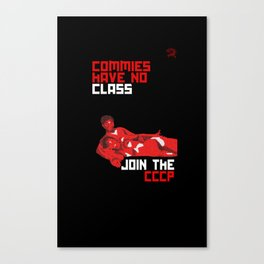 Commies Have No Class Canvas Print