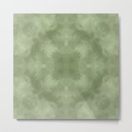 Sage Abstract II Metal Print