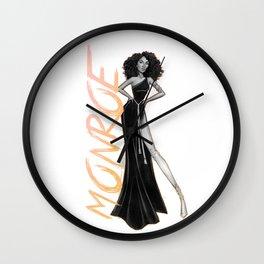 Monroe Bishop Wall Clock