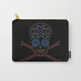 Marine Creatures Skull Carry-All Pouch