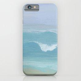 Seashore Small Wave Breaking iPhone Case