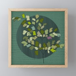 Maidenhair Fern Framed Mini Art Print