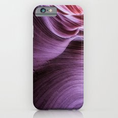 Purple Rock Swirls Slim Case iPhone 6s
