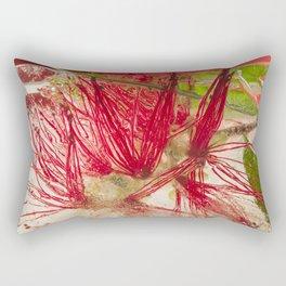 Weeping Bottlebrush Tree #45 Rectangular Pillow