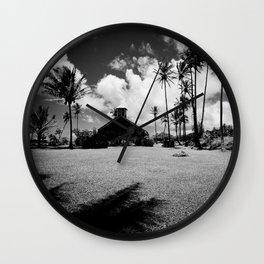Lanakila ihiihi o iehowa oNa Kaua Church Keanae Maui Hawaii Wall Clock