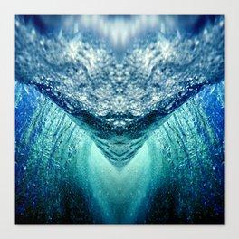 ocean vortex Canvas Print