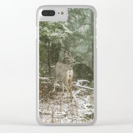 Away from the Crowd Clear iPhone Case