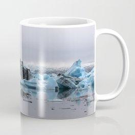 Icebergs at Glacier Lagoon Jökullsárlon Coffee Mug