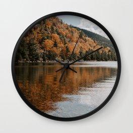 Jordan Pond Wall Clock