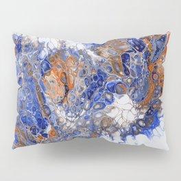 Team Splash, Orange and Blue Pillow Sham