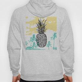Pineapple print Hoody