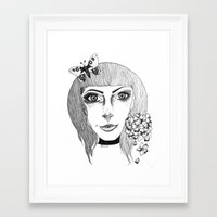 fairies Framed Art Prints featuring Fairies by Bambi-boo