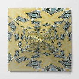 Basically Yellow Room 14 Metal Print