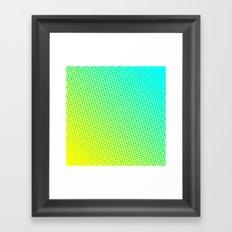 80's grade sky Framed Art Print