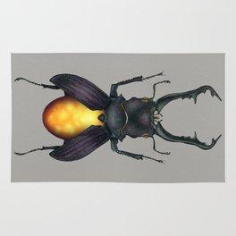 Amber Beetle Rug