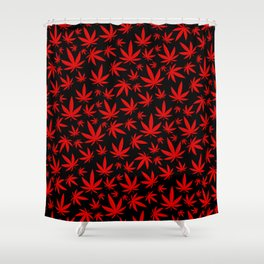 Canada Weed Shower Curtain