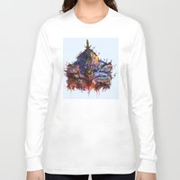 evangelion Long Sleeve T-shirts featuring Evangelion by ururuty