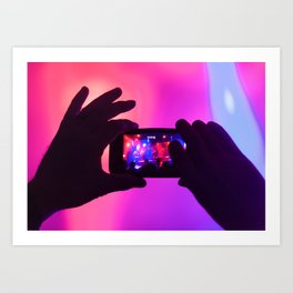 Take your pic! Art Print