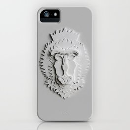 """Mandrill King"" iPhone Case"