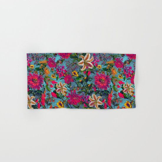 SUMMER GARDEN II Hand & Bath Towel