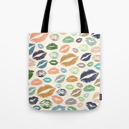 Lips 16 Tote Bag