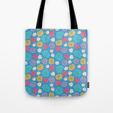 RocoFloral (blueberry) Tote Bag