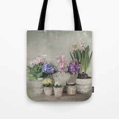 longing for springtime Tote Bag