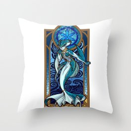 Sage of Water Throw Pillow