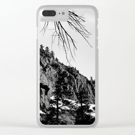 Mammoth Lakes 4 Clear iPhone Case