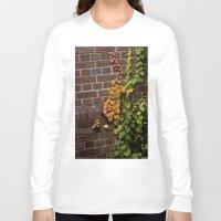 climbing Long Sleeve T-shirts featuring Climbing by C. Wie Design