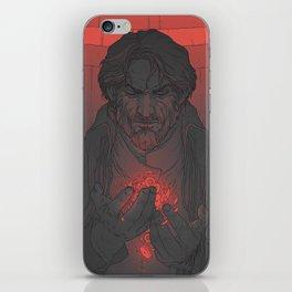 DH: Corvo the Black - Heart iPhone Skin