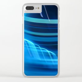 Smooth light art Clear iPhone Case