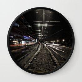 moving lights Wall Clock