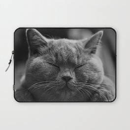 British Shorthair Cat Laptop Sleeve