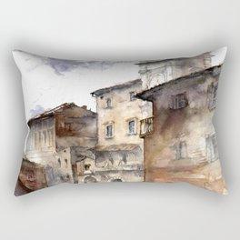 Cortona, Italy Rectangular Pillow