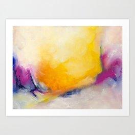 Embracing the light #1 Art Print
