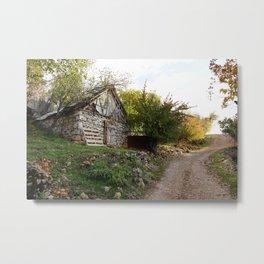 village paths Metal Print