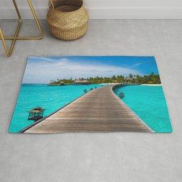 Fascinating Pier In Constance Halaveli Maldives Ultra HD Rug