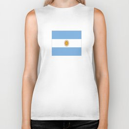 Flag of argentina -Argentine,Argentinian,Argentino,Buenos Aires,cordoba,Tago, Borges. Biker Tank