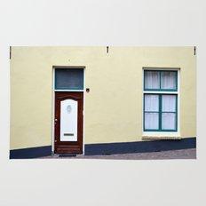 Dutch door and window Rug