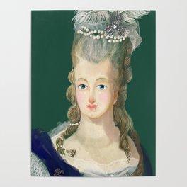 Marie Antoinette portrait Poster