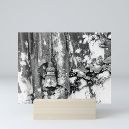 Cemetery Mini Art Print