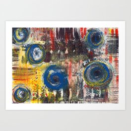 Abstract Nr. 2 Art Print