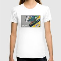 senna T-shirts featuring Senna Meditation by Borja Sanz