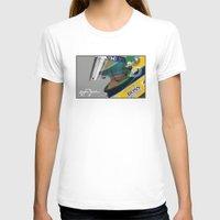 senna T-shirts featuring Senna Meditation by Borja Sanz Design