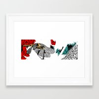 insect Framed Art Prints featuring insect by Ferdane Aydın
